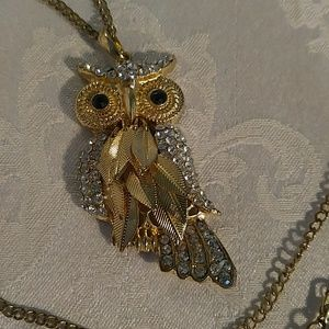 $$ Owl Necklace.